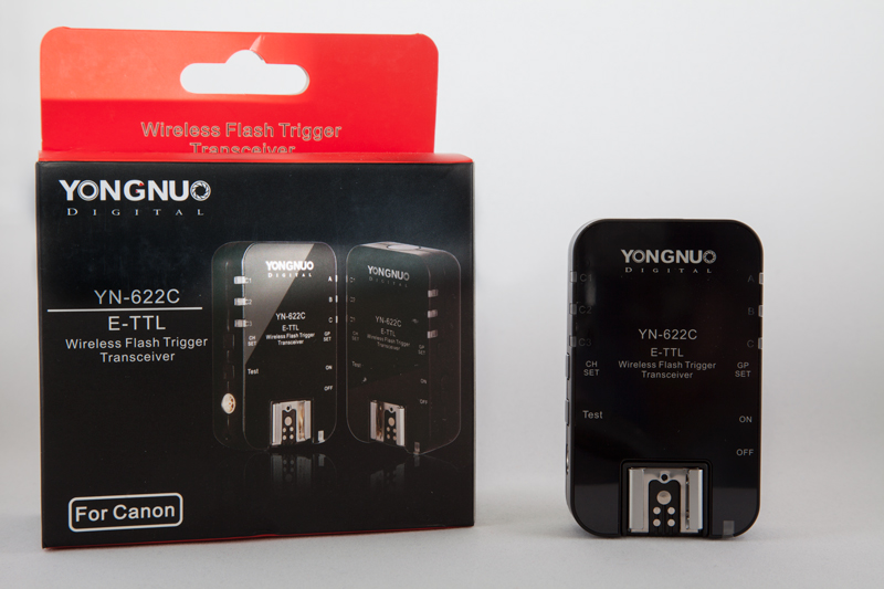 Yongnuo 622C flash triggers
